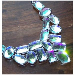 Jewelry - .925 Rainbow Mystic Topaz Sterling Silver Necklace